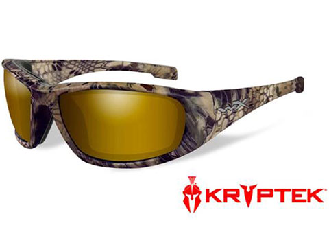 Wiley X Venice Sunglasses (Color: Polarized Venice Gold Mirror lens with Kryptek® Highlander frame)