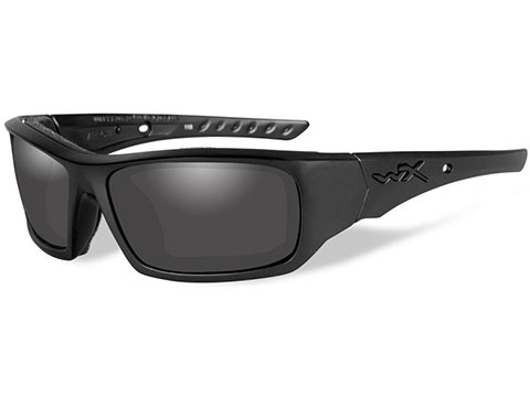 Wiley X Twisted Sunglasses (Color: Smoke Grey Lens with Matte Black Frame)