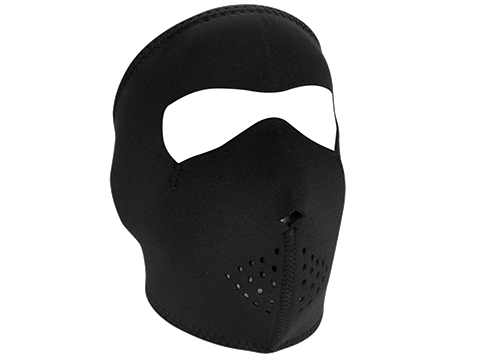 Zan Neoprene Oversized Full Face Mask (Color: Black)