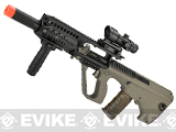 APS AUG A3 Spec-Ops Carbine Length Airsoft AEG Rifle - Tan
