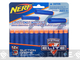 NERF N-Strike Elite Universal Suction Darts - 12 Pack