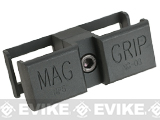 Avengers MP5 / MP5k Metal 9mm Magazine Coupler / Mag Clamp - Black