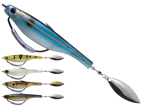 Hyperlastics Dartspin Pro 7 Weedless Fishing Bait