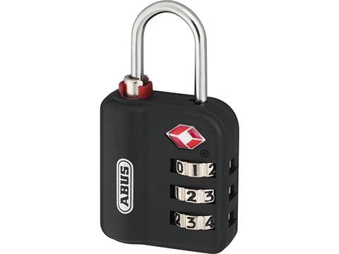 ABUS Combination Front View Travel Lock (Model: 147TSA/30 / Level 2)