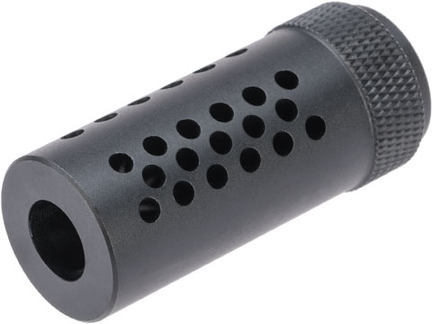 Angel Custom CNC Special Force-16 Type Airsoft Flashhider (Type: Negative / 14mm-)