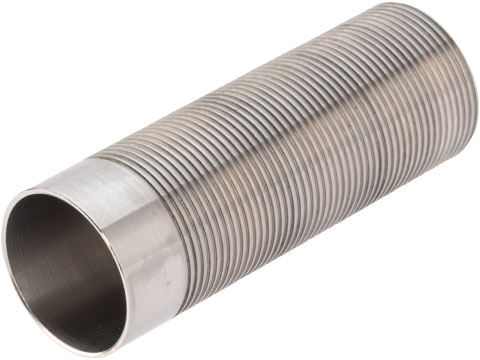 Angel Custom CNC Advanced Stainless Ribbed Airsoft AEG Cylinder (Model: Type 0)