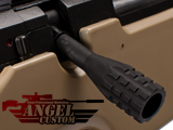 Angel Custom CNC Steel Bolt Handle for Type 96 AWP Sniper Rifles (Snowwolf WELL Maruzen APS2 M24)