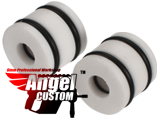 Angel Custom Delrin Inner Barrel Spacer Set for APS / APS2 Airsoft Sniper Rifles