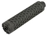 Angel Custom HIVE Airsoft Suppressor Barrel Extension (Model: Power UP 160mm / 14mm Neg. / Black)