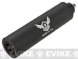 Angel Custom FPS-UP Mock Silencer (115mm with 6.01mm Inner Barrel) (Version: Soldier of Steel / 14mm Negative)