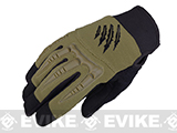 Armored Claw BattleFlex Tactical Glove (Color: OD Green / Medium)