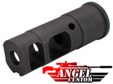 Angel Custom 14mm- CNC 556 Type Special Forces Airsoft Metal Flashhider (14mm-)