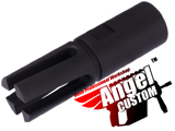 Angel Custom 14mm- CNC M14 Socom Type Special Forces Airsoft Metal Flashhider (14mm-)