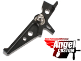 Angel Custom CNC Aluminum Tunable Trigger for M4 / M16 Series Airsoft AEG Rifles