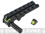 Angel Charging Handle / Rail Mount Night Glow Front & Rear Sight for WE G Series Airsoft GBB Pistol