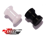 Angel Custom CNC H-Hop Hopup Spacer For All Airsoft AEG (Set of 2 / Black & Clear)