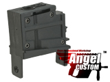 Angel Custom Magazine Adapter for Firestorm / Thunderstorm Airsoft AEG Drum Magazines (Version: G36 / Black)