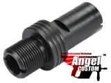 Angel Custom 12mm+ to 14mm- CNC Steel Adapter for KWA KSC H&K MP7 Series Airsoft GBB