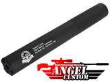 Angel Custom Bio-Hazard 275mm CNC Aluminum 14mm Airsoft Mock Silencer (Version: Silent Warrior)