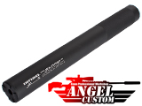 Angel Custom Bio-Hazard 320mm CNC Aluminum 14mm Airsoft Mock Silencer (Version: Infidel)