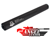 Angel Custom Bio-Hazard 320mm CNC Aluminum 14mm Airsoft Mock Silencer - Silent Warrior