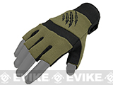 Armored Claw Shooters Cut Tactical Glove - OD Green
