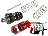 Angel Custom High Flow Cylinder Bulb & Valve Kit for WE-Tech SMG-8 Airsoft GBB Sub-Machine Gun