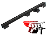 Angel Custom 100% CNC Full Flat Top Rail Mount Base for FAMAS Series Airsoft AEG