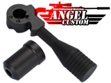 Angel Custom PSS10 Steel Bolt Handle for VSR-10 Airsoft Sniper Rifles (TM, WELL MB Series, JG)