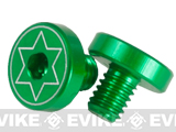 Airsoft IPSC Aluminum Grip Screw For Hi-CAPA Series Airsoft GBB - Green