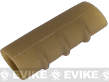 Rubber Slip-on Non-Slip Cover For Weapon Vertical / Hand Grips - Dark Earth