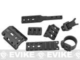 Unity Tactical Fusion Series Rail Accessories by PTS - Black