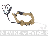 Z-Tactical Throat Mic Microphone - Tan