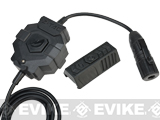 Element Z-Tactical Push-To-Talk PTT Radio Adaptor w/ Wireless Remote (Connector: Kenwood)