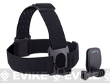 GoPro Head Strap + QuickClip for HD HERO Professional Wearable Camera