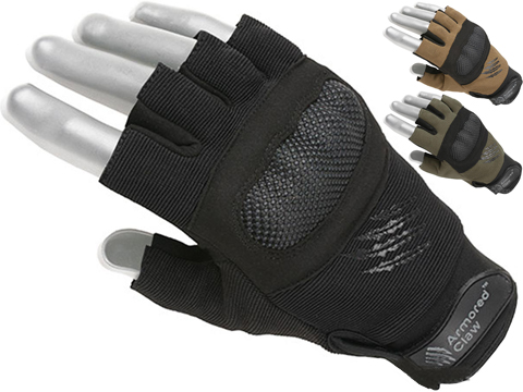 Armored Claw Shield Cut Tactical Glove (Color: Black / Small)