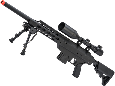 Action Army AAC21 Gas Powered Airsoft Sniper Rifle