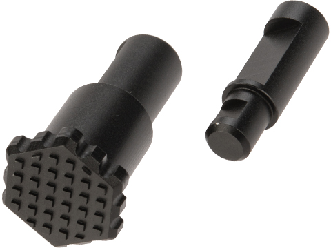 Angel Custom HEX Forward Assist for M4/M16 Series Airsoft AEGs (Color: Black)