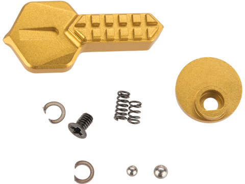 Angel Custom HEX CNC Selector Switch for M4/M16 Series Airsoft AEGs (Color: Gold)
