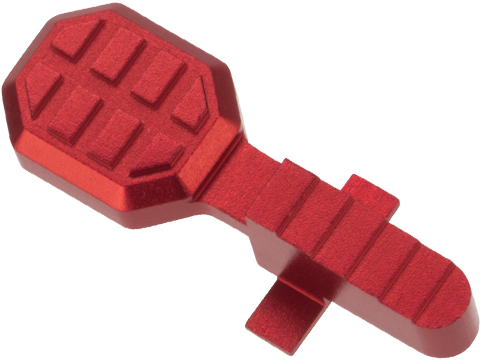 Angel Custom HEX Standard Bolt Catch for M4/M16 Series Airsoft AEGs (Color: Red)