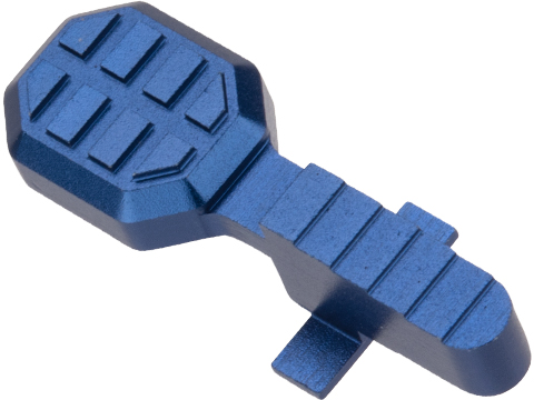 Angel Custom HEX Standard Bolt Catch for M4/M16 Series Airsoft AEGs (Color: Blue)