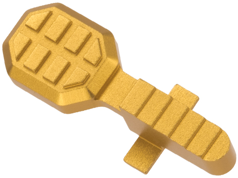 Angel Custom HEX Standard Bolt Catch for M4/M16 Series Airsoft AEGs (Color: Gold)