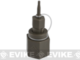 Airsoft Evike.com Polymer Propane Adaptor w/ Integrated Silicone Port for Airsoft Gas Magazines (Package: Adapter)