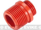 Threaded Adapter for WE HICAPA / 1911 Series Airsoft Gas Pistols (Orange)