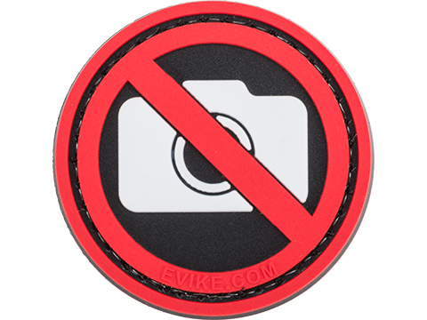 Evike.com No Photography Sign Patch