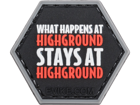 Operator Profile PVC Hex Patch iAirsoft Series 1 (Style: What Happens at Highground...)