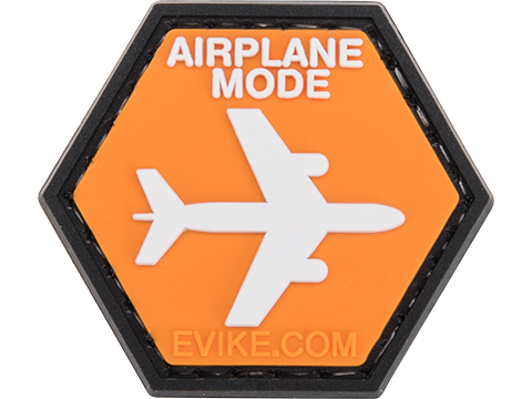 Operator Profile PVC Hex Patch Signs Series (Type: Airplane Mode)