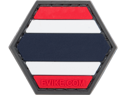 Operator Profile PVC Hex Patch Flag Series (Country: Thailand)