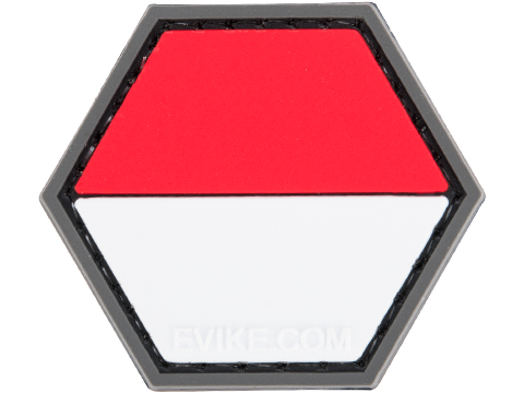Operator Profile PVC Hex Patch Flag Series (Country: Indonesia)