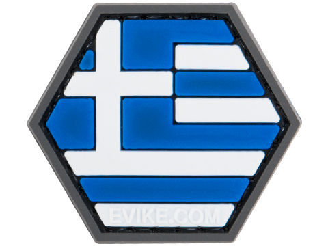 Operator Profile PVC Hex Patch Flag Series (Country: Greece)